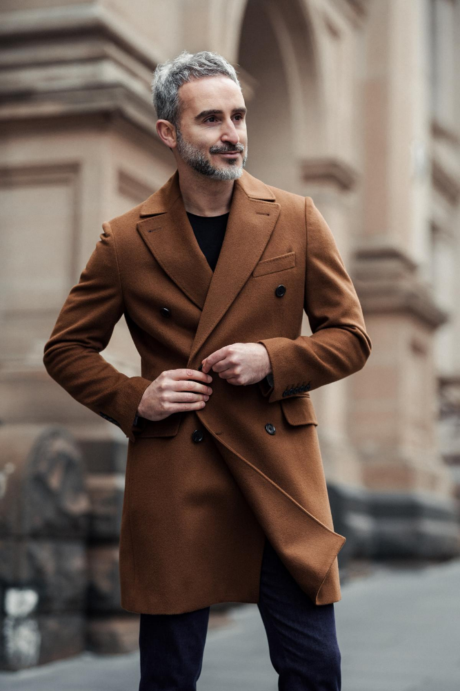 Enzo Coat - Gold Tan