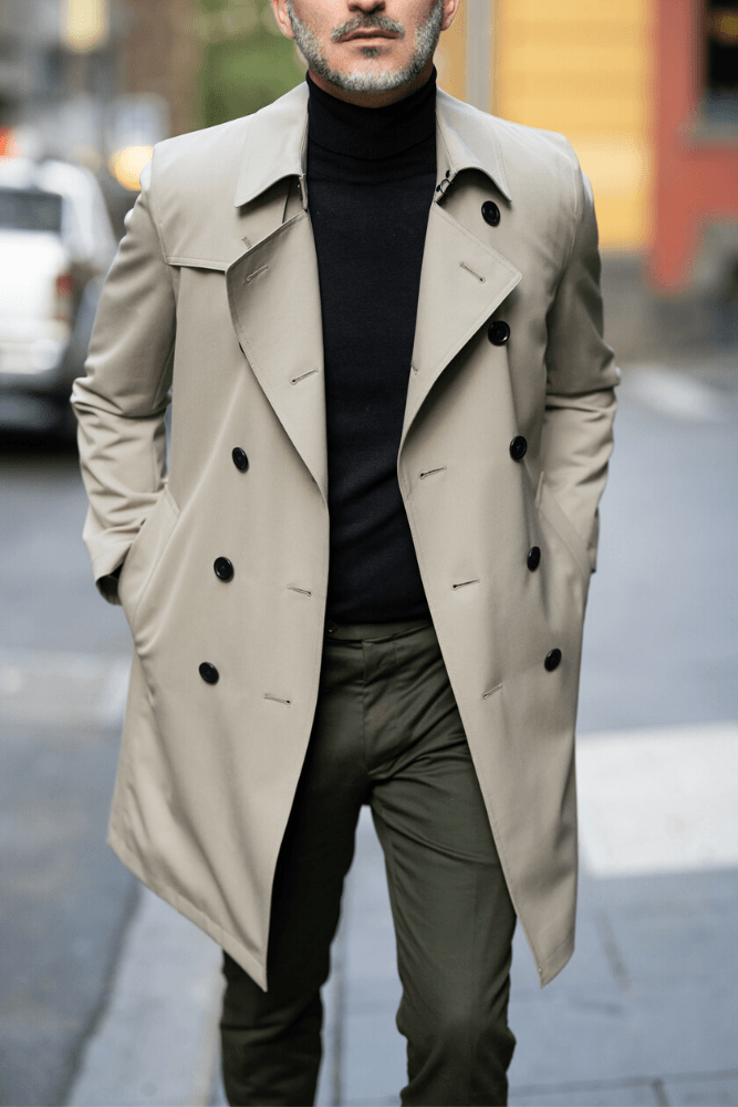 Drake Trench Coat -  Tech Taupe