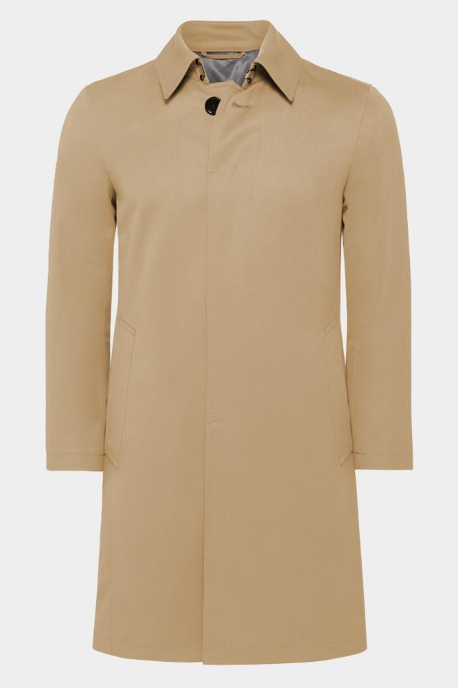 Drivar Car Coat - Tech Tan