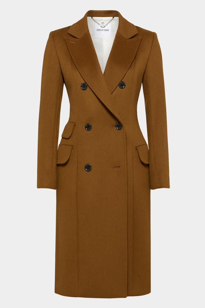 Sofia Coat - Gold Tan