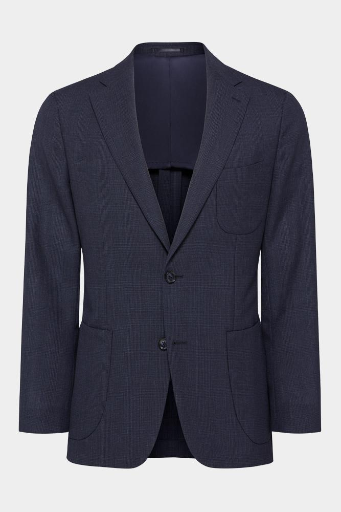 Julius Sports Jacket - Navy Self Check