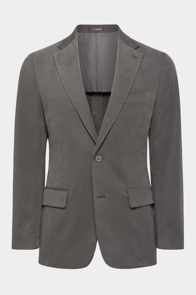Wilhelm Sports Jacket - Brushed Dark Grey