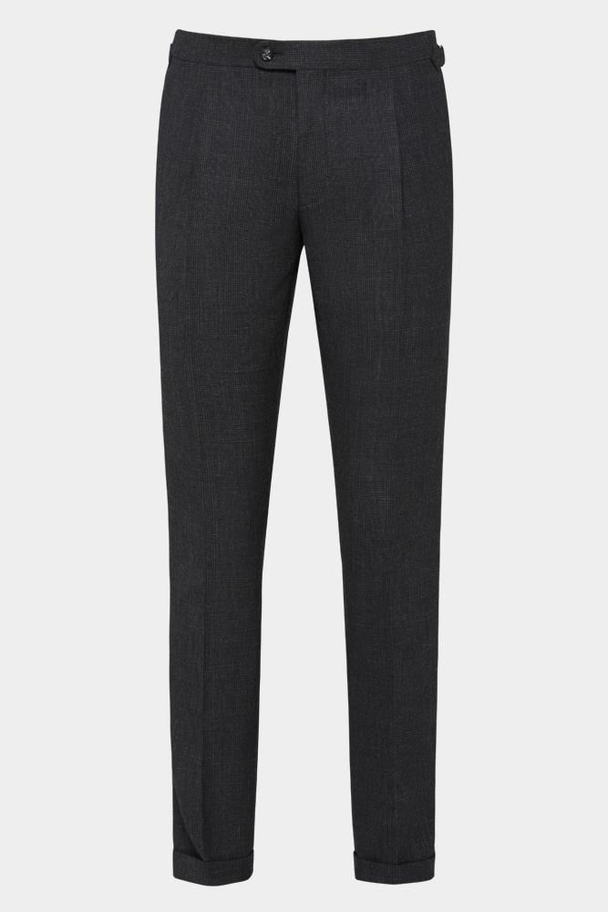Roma Trouser - Charcoal Self Check
