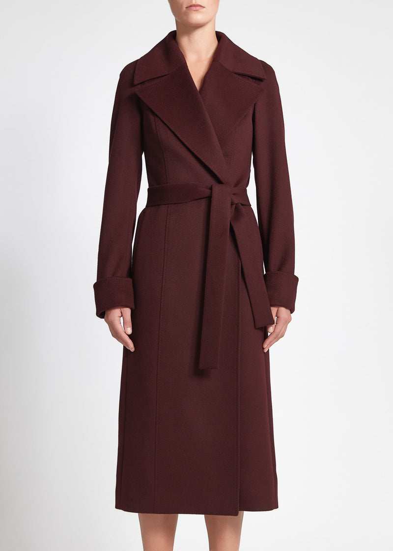 Alessia Coat - Burgundy
