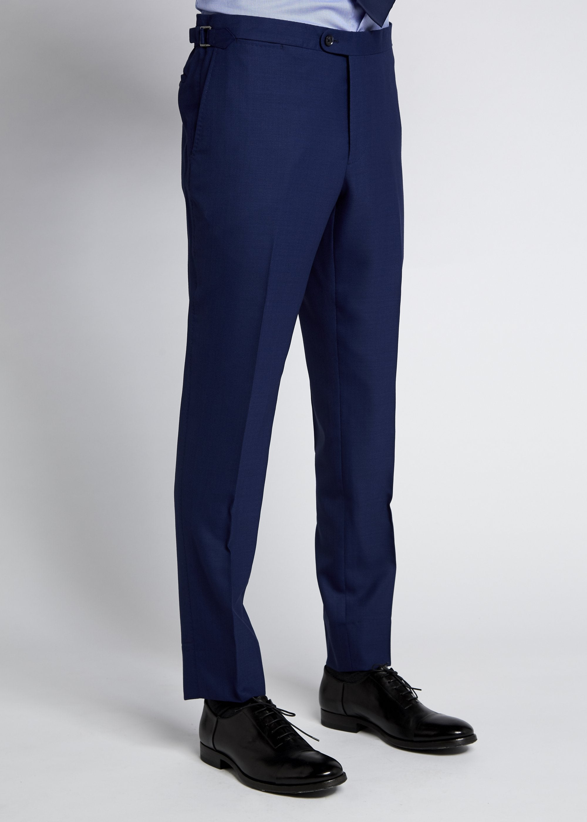 Apollo Trouser - Royal Blue Textured