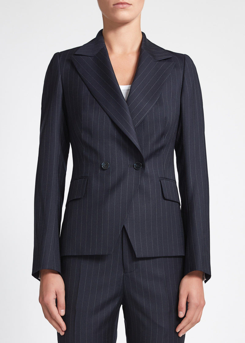 Ariana Suit - Navy Chalk