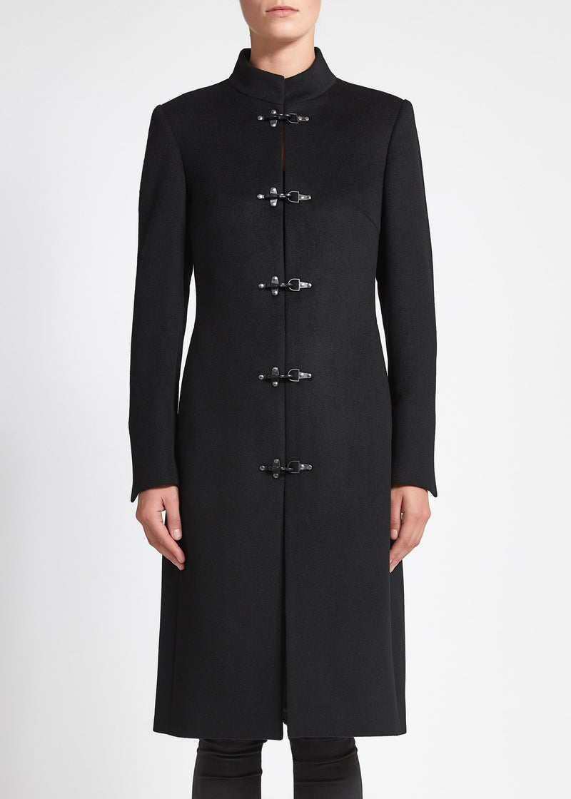 Chiara (Long) Coat - Black