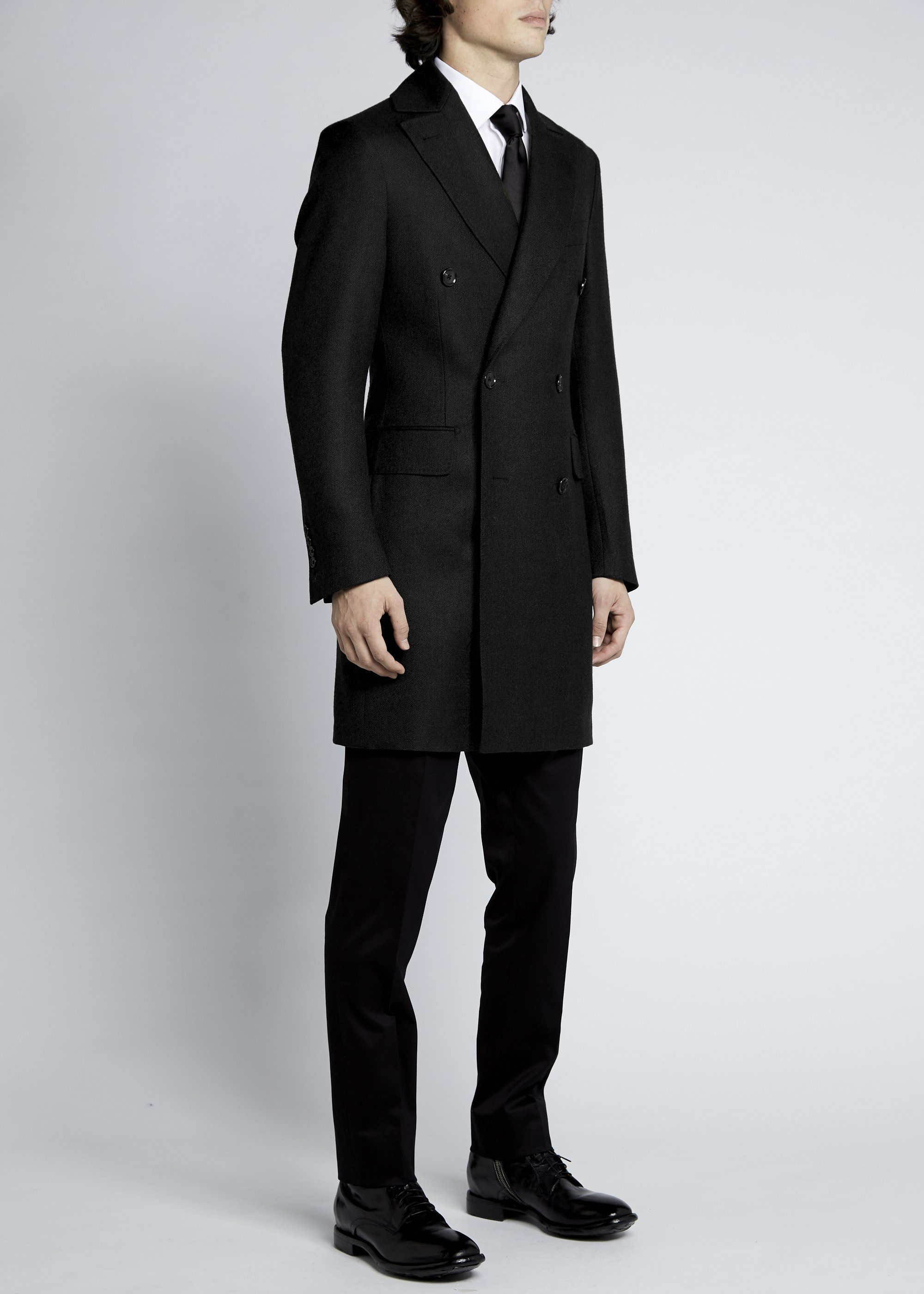 Enzo Coat - Black