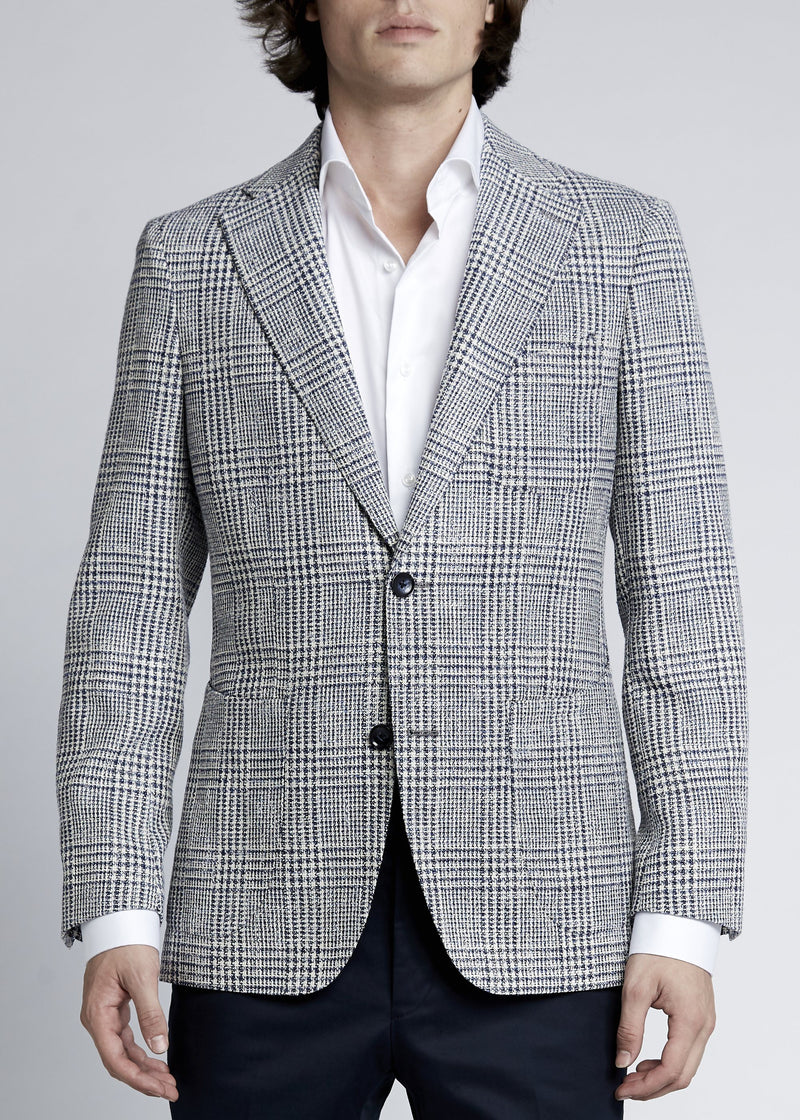 Julius Sports Jacket - Blue Grey Prince
