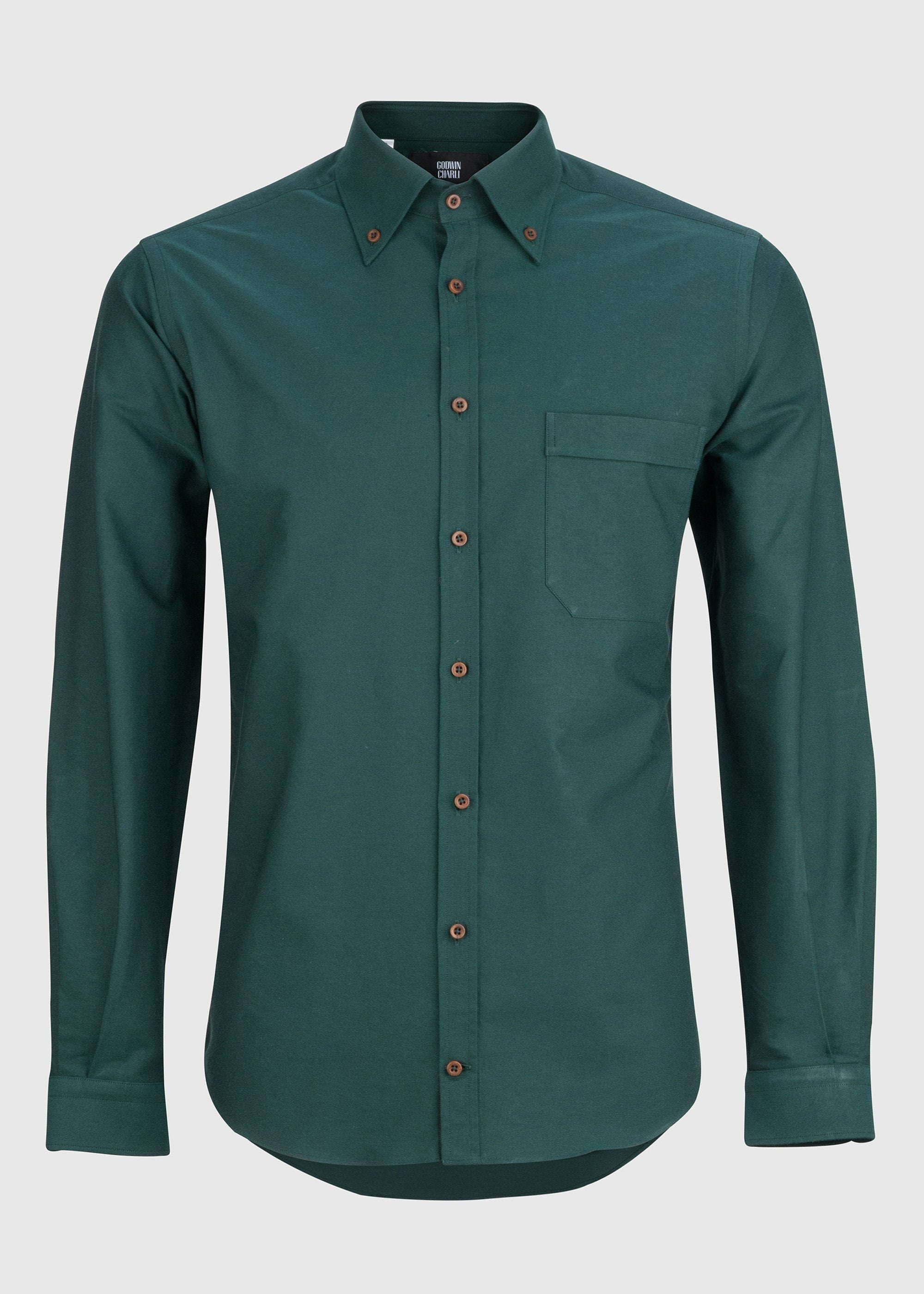 Karlis (P) - Dark Green Oxford