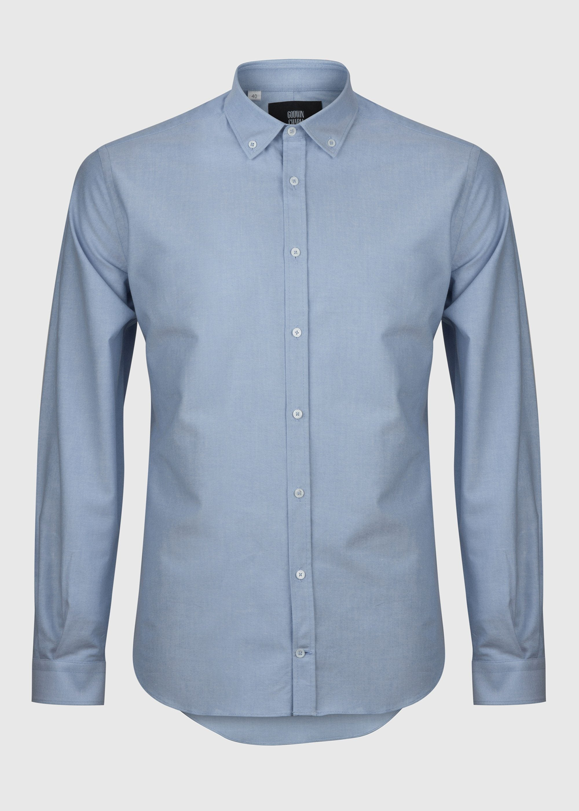 Karlis - Light Blue Oxford
