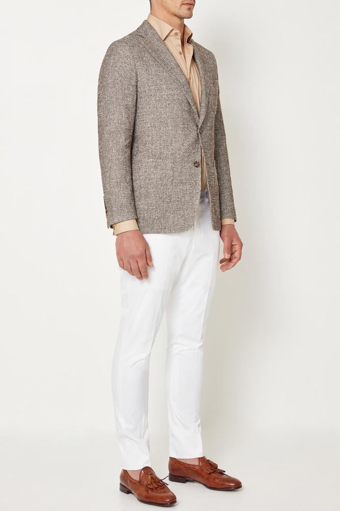 Julius Sports Jacket - Knit Latte