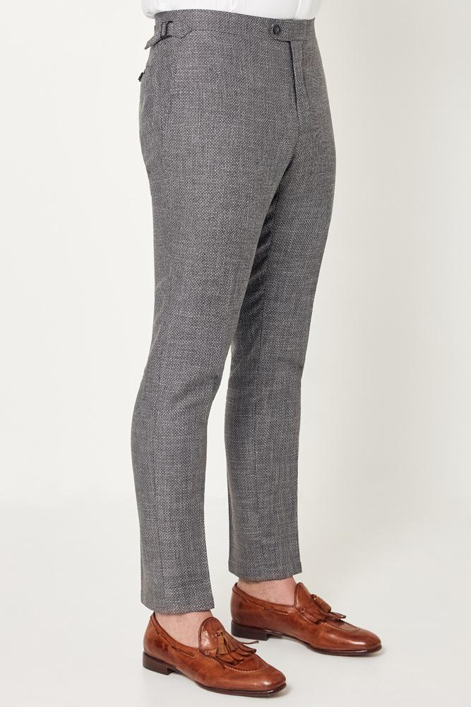 Apollo Trouser - Grey Black Circle