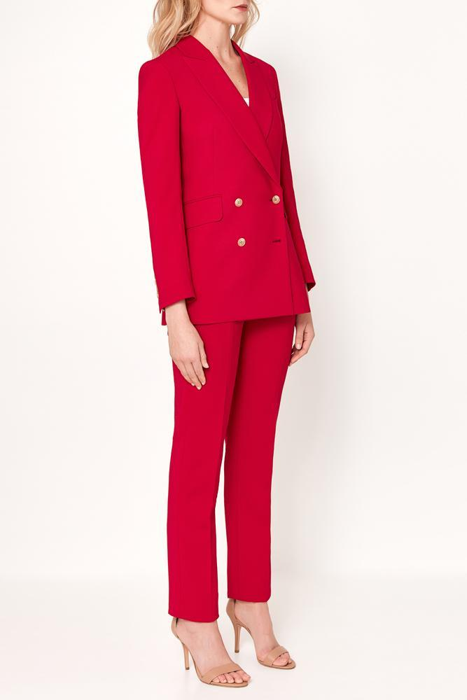 Luna Jacket - Ruby Red