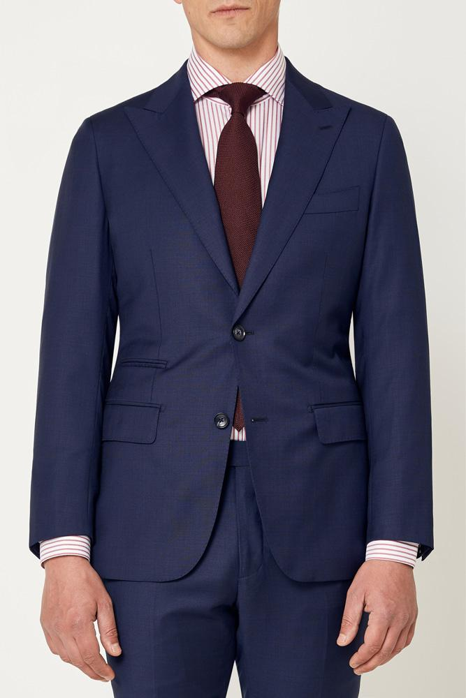 Jonah Suit - Self Check Navy