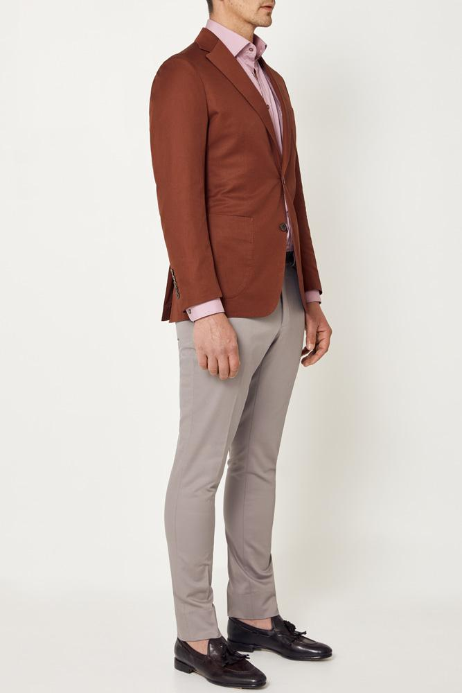 Julius Sports Jacket - Red Earth
