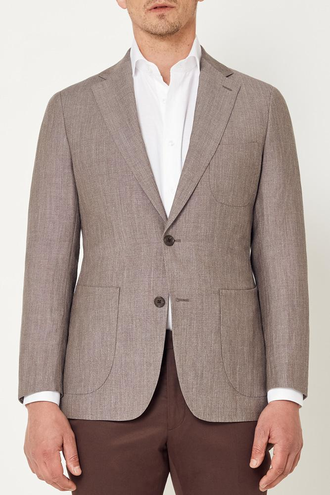 Julius Sports Jacket - Light Brown