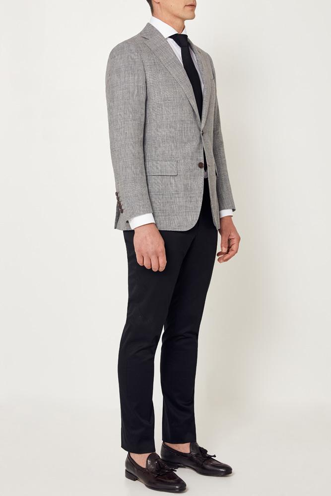 Wilhelm Sports Jacket - Grey Check