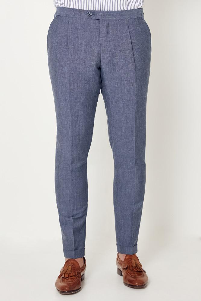 Roma Trouser - Light Denim