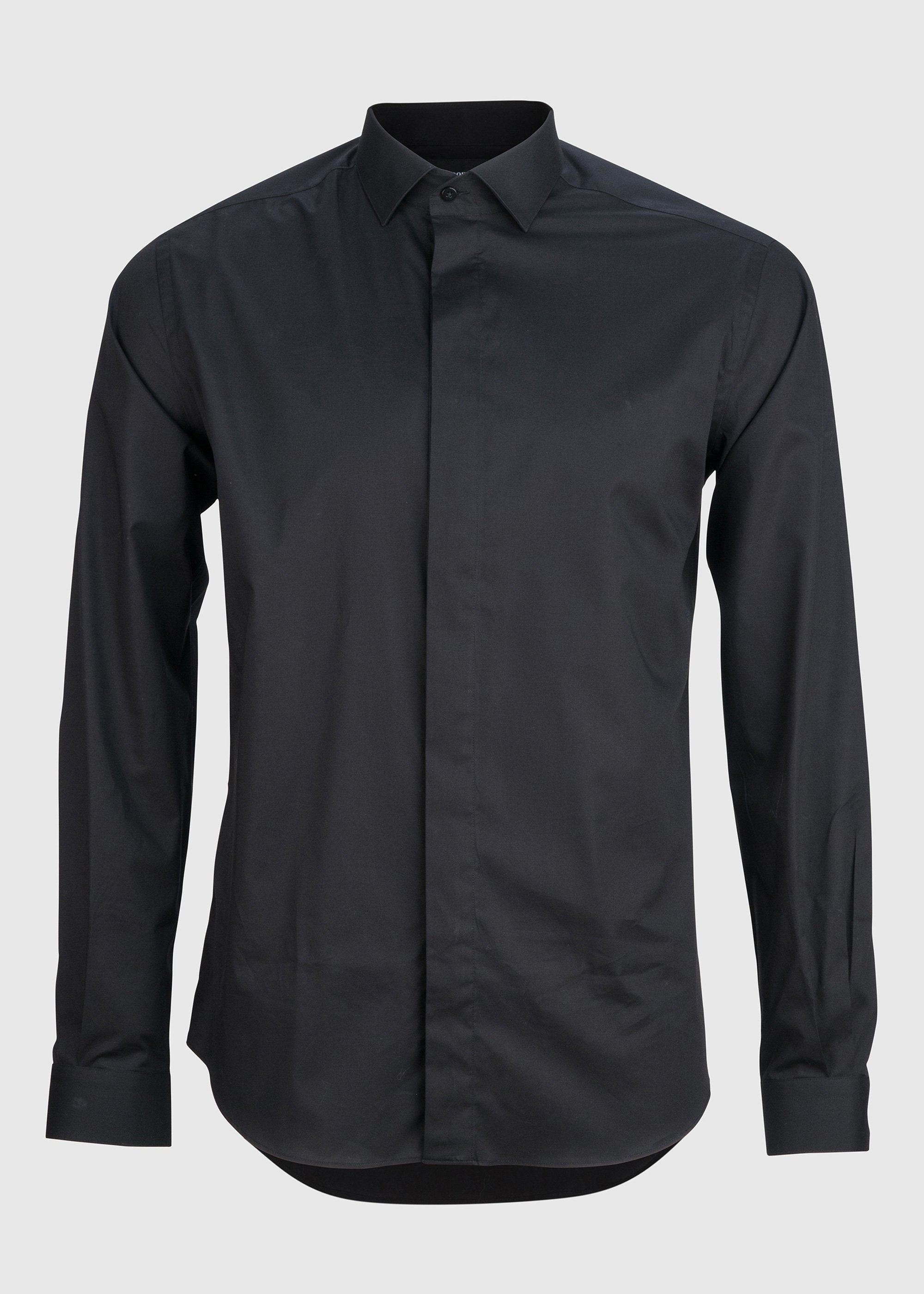 Lamarr Shirt - Black Stretch