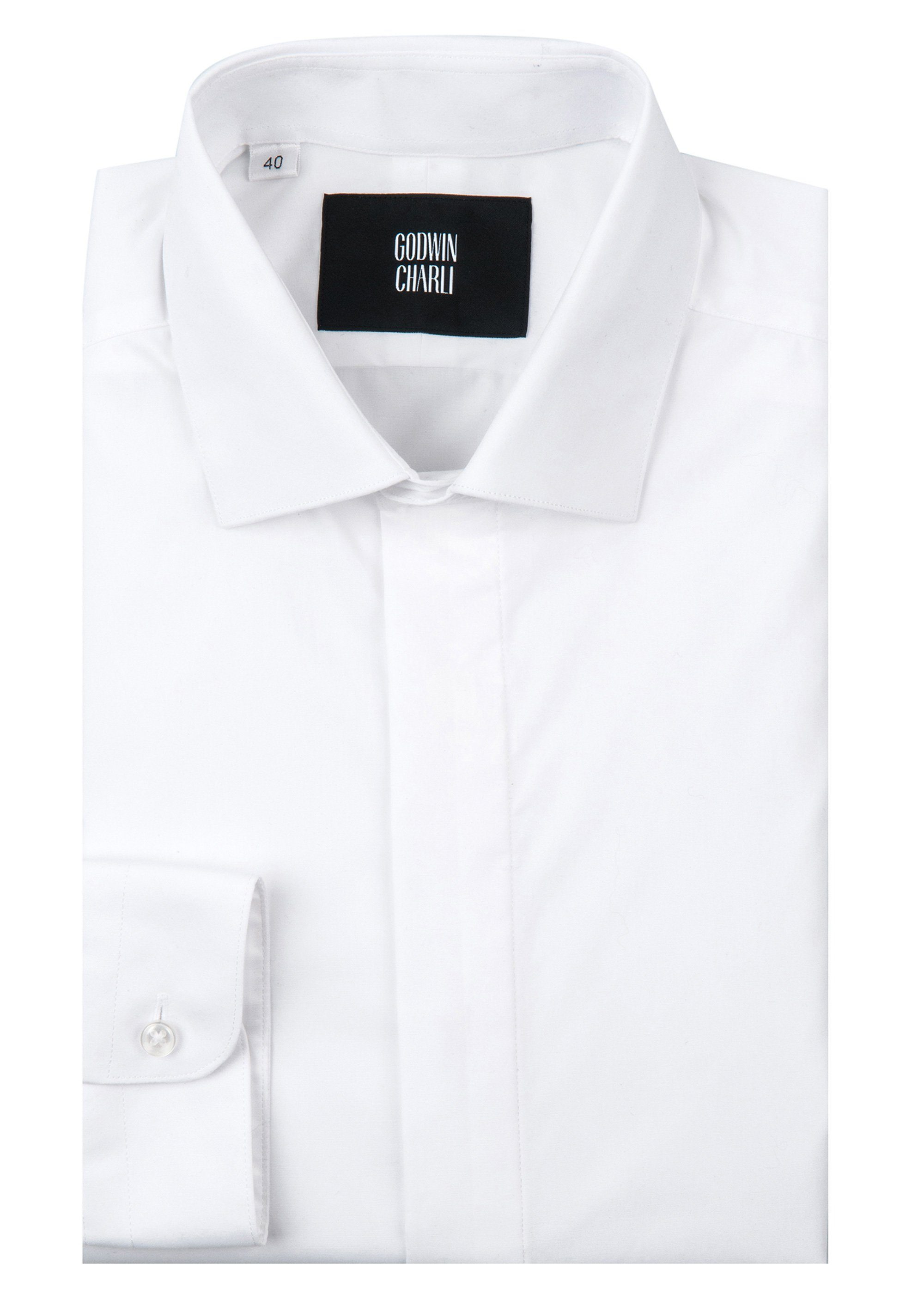 Lamarr Shirt - White Stretch