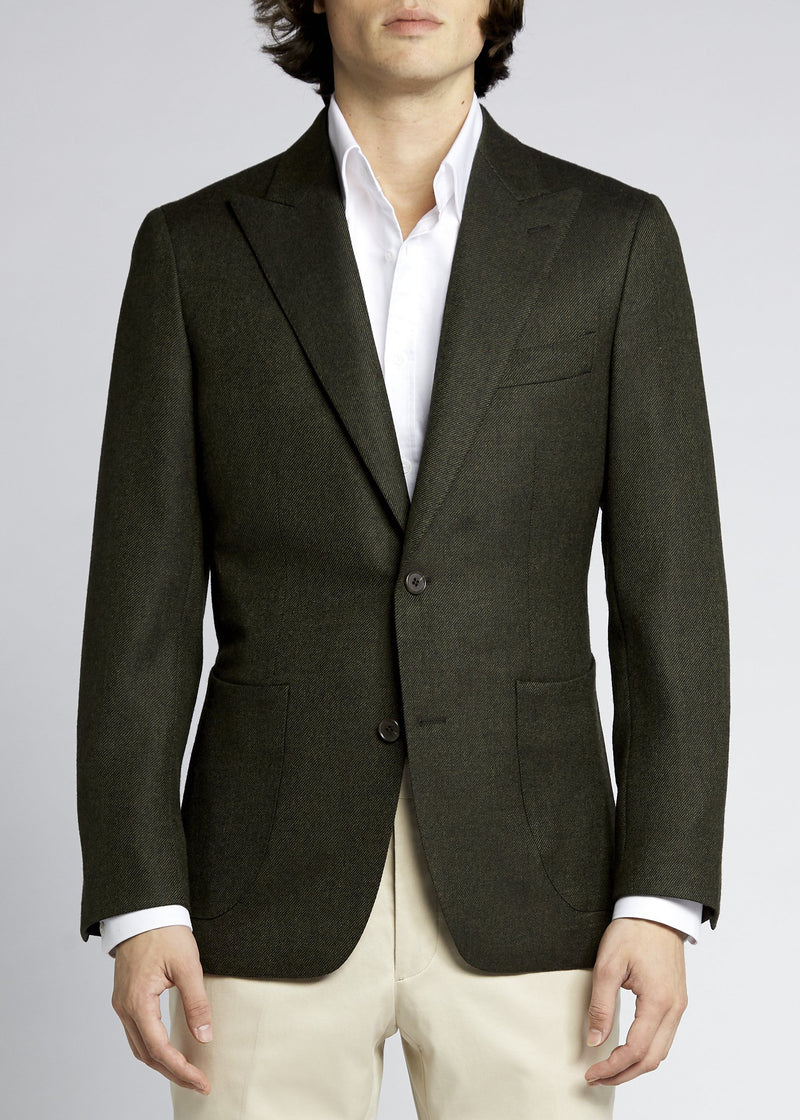 Lenni Sports Jacket - Olive Twill