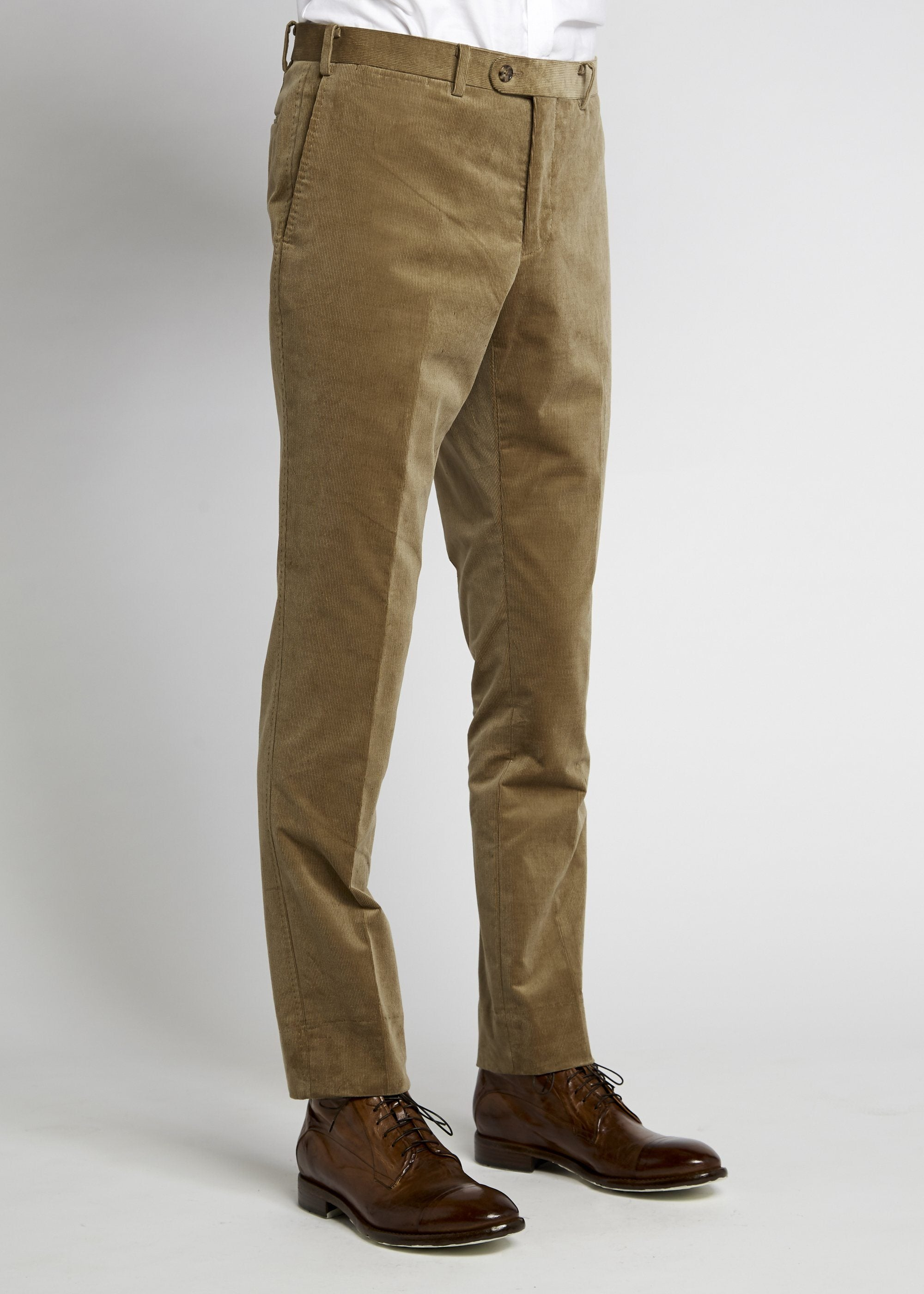 Xander Trouser - Camel Cord