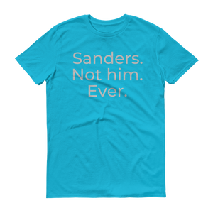 Sanders. Not him. Ever.