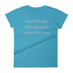 War Party: democrats, republicans