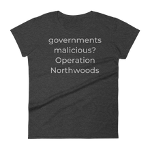 Load image into Gallery viewer, governments malicious? Operation Northwoods