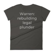 Load image into Gallery viewer, Warren: rebuilding legal plunder