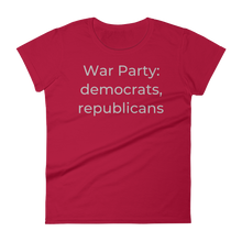 Load image into Gallery viewer, War Party: democrats, republicans