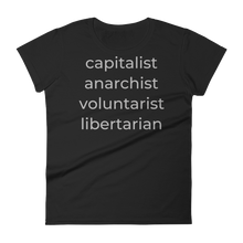 Load image into Gallery viewer, capitalist anarchist voluntarist libertarian