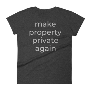 make property private again