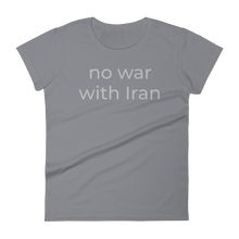 Load image into Gallery viewer, no war with Iran