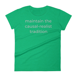 maintain the causal-realist tradition