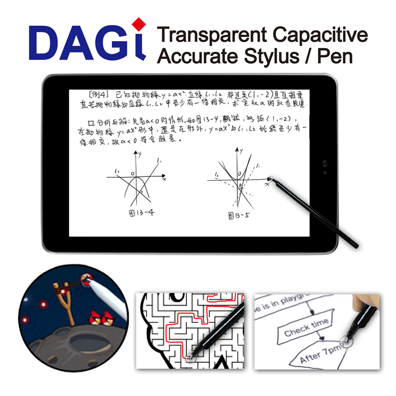 Dagi Slim Disc Stylus Pen