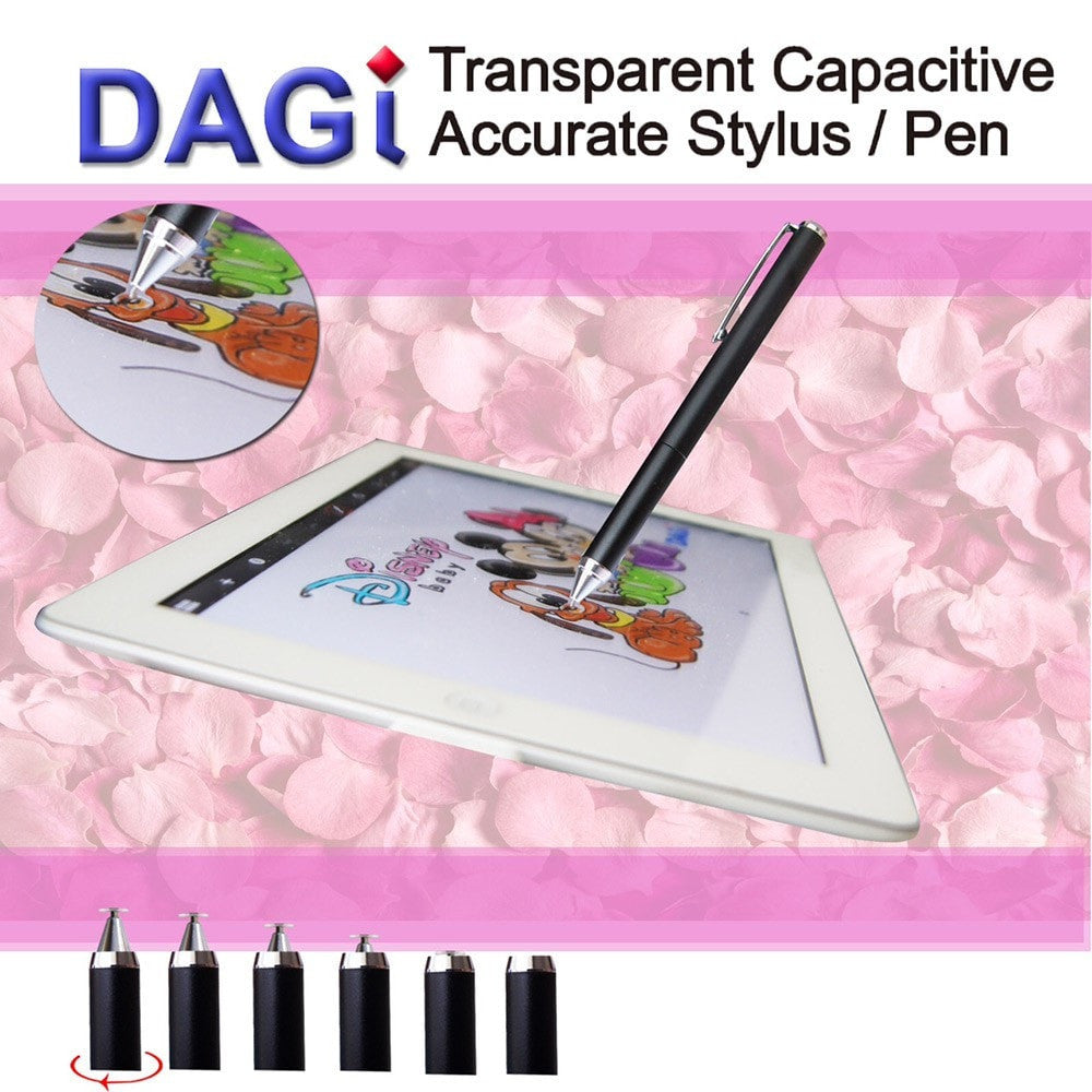 Dagi Disc Super Twist Top Fine Tip Stylus