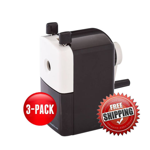 Teacher Special 3 Large Hole Sharpeners - Classroom Friendly Supplies  - 1