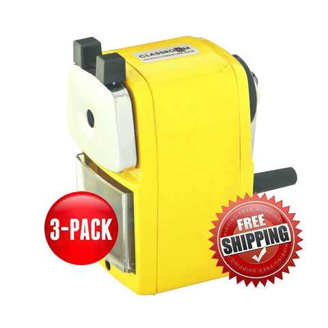 ***NEW*** Teacher Special 3 Yellow (Buy 3 for only $17.99 each) - Classroom Friendly Supplies  - 1