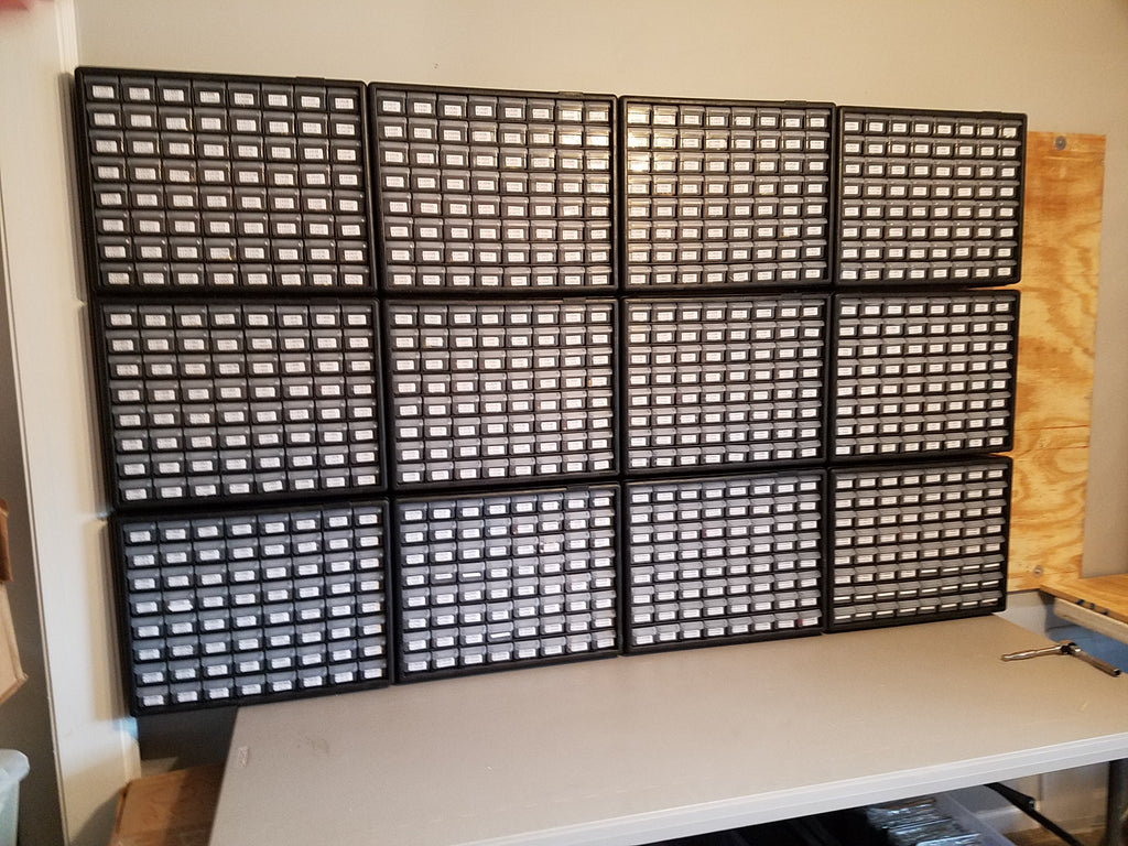 New pin storage!