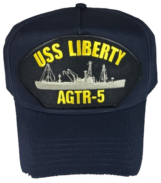 USS LIBERTY AGTR-5 Hat - Found per customer request! Ask Us! - HATNPATCH