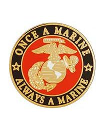 Once a Marine Pin