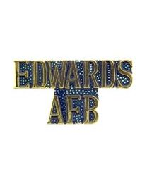 Edwards AFB Pin