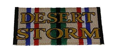 DESERT STORM SERVICE RIBBON PATCH ODS GULF WAR VETERAN IRAQ KUWAIT SAUDI