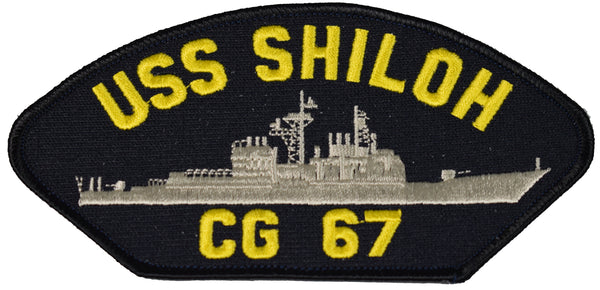USS SHILOH CG 67 SHIP PATCH - GREAT COLOR - Veteran Owned Business