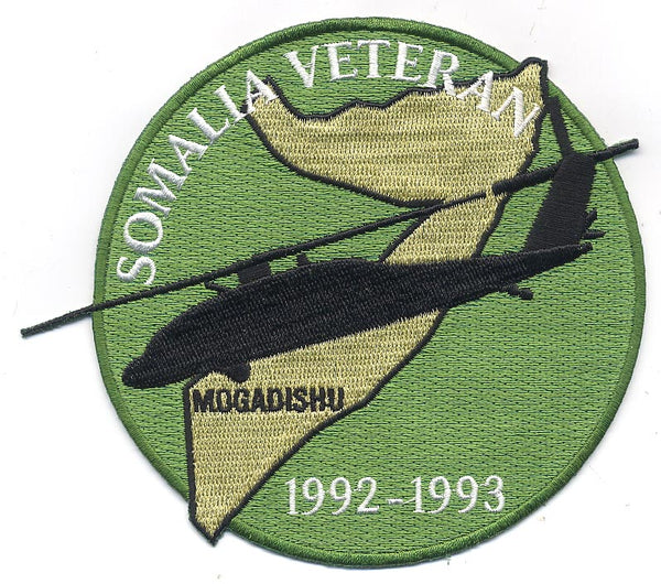 Somalia Veteran Patch - HATNPATCH