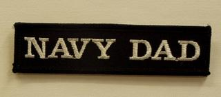 NAVY DAD PATCH