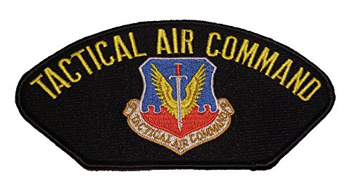 USAF TACTICAL AIR COMMAND w/TAC Logo Patch - Veteran Owned Business
