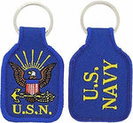 USN NAVY LOGO KEY CHAIN SAILOR VETERAN RETIRED ACTIVE DUTY SHIP SUBMARINE